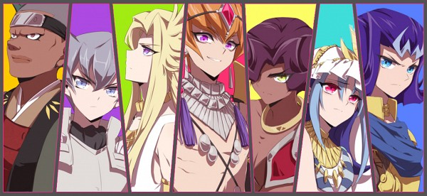 Seven Barian Emperors - Yu-Gi-Oh! ZEXAL