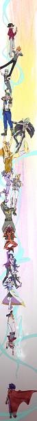 Tags: Anime, Pixiv Id 984468, Yu-Gi-Oh!, Yu-Gi-Oh! ZEXAL, Astral, Ponta (Yu-Gi-Oh! ZEXAL), Shingetsu Rei, Kamishiro Ryoga, Durbe, Kamishiro Rio, Tsukumo Yuma, Girag, Mizael