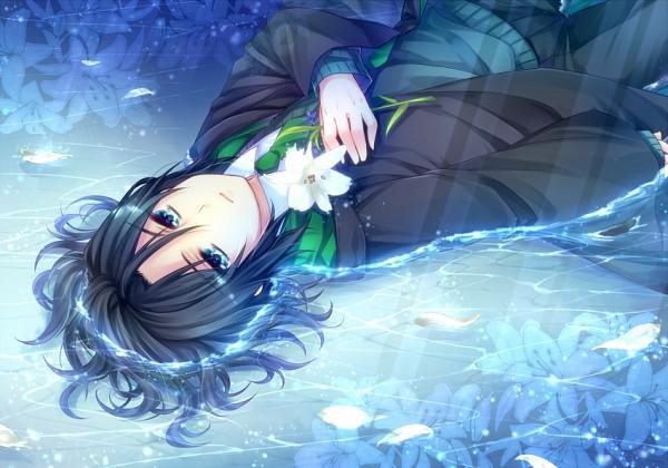 Tags: Anime, Yuuna Minato, Harry Potter, Severus Snape, V-neck, PNG Conversion, Fanart, Pixiv