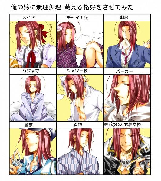 Tags: Anime, Asamidiot, Saiyuki, Sha Gojyo, Yagasuri, Fanart, Pixiv