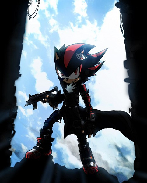 Tags: Anime, Windhover07, Sonic the Hedgehog, Shadow the Hedgehog, Trench Coat, Fanart From DeviantART, Fanart, deviantART