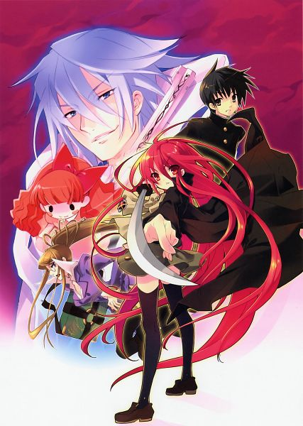 Tags: Anime, Ito Noizi, Shakugan no Shana, Sakai Yuuji, Marianne (Shakugan no Shana), Shana, Friagne, Margery Daw, Official Art, Burning-eyed Shana