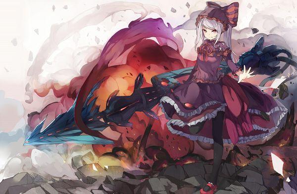 Tags: Anime, Pixiv Id 3410615, Overlord, Shalltear Bloodfallen, Fanart From Pixiv, Pixiv, Fanart