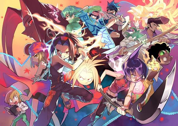 Tags: Anime, Kshabillya, Shaman King, Bason, Kororo, Mic (Character), Tao Ren, Tokagerou, Morphine, Umemiya Ryuunosuke, Oyamada Manta, Amidamaru, Lyserg Diethel