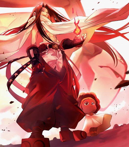 Tags: Anime, Pixiv Id 4739473, Shaman King, Opacho, Asakura Hao, Fanart, Fanart From Pixiv, Pixiv