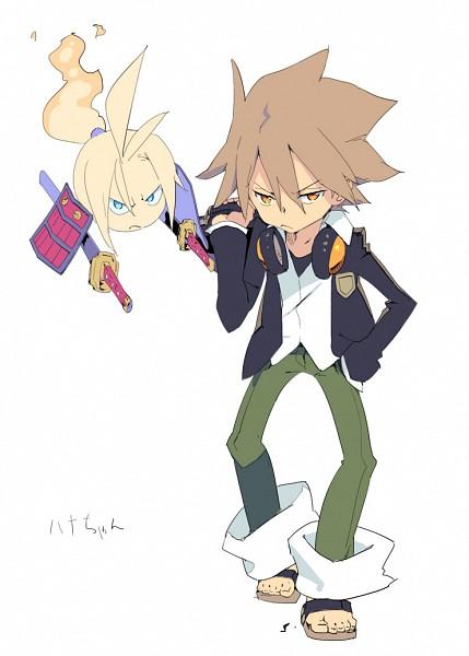 Tags: Anime, Nagisa Kurousagi, Shaman King Flowers, Shaman King, Asakura Hana, Fanart