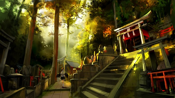 Tags: Anime, KzcJimmy, Touhou, Shameimaru Aya, Pixiv, Facebook Cover, Wallpaper, Fanart From Pixiv, Fanart, Aya Shameimaru