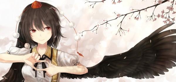 Tags: Anime, Yuu-rin, Touhou, Shameimaru Aya, Fanart, Fanart From Pixiv, Pixiv, Facebook Cover, Aya Shameimaru