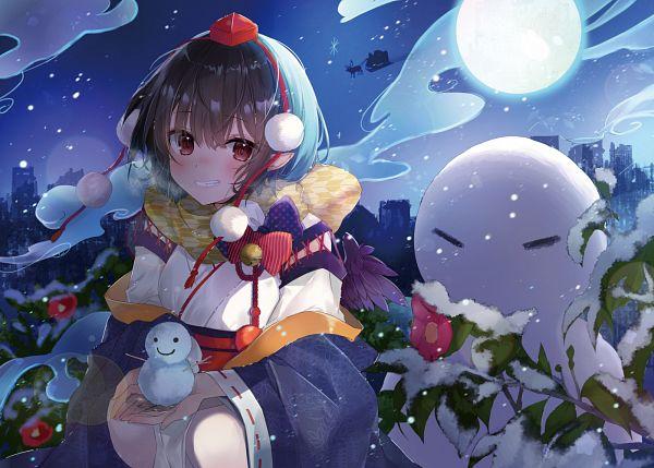 Tags: Anime, Natsuki (ukiwakudasai), Touhou, Shameimaru Aya, Fanart, Fanart From Pixiv, Pixiv, Aya Shameimaru