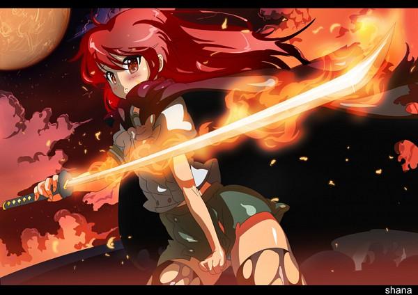 Tags: Anime, Tashiromotoi, Shakugan no Shana, Shana, Pixiv