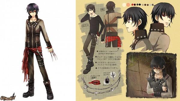 Tags: Anime, Nitou Akane, BROCCOLI, End Breaker!, Shane Rosenbrau, Facebook Cover, Character Sheet