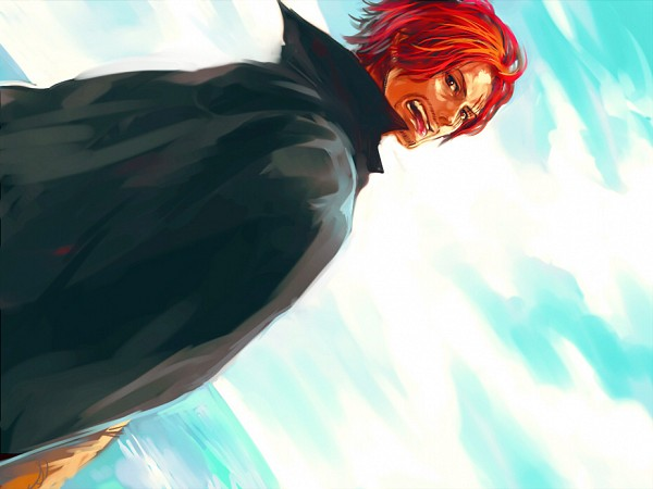 Tags: Anime, Tsuyomaru, ONE PIECE, Shanks, Fanart, Pixiv, Fanart From Pixiv, Yonkou, Red Hair Pirates