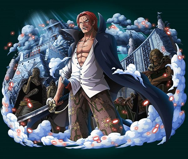Tags: Anime, ONE PIECE, ONE PIECE: Treasure Cruise, Shanks, Official Art