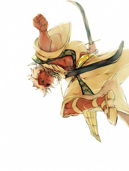 Tags: Anime, Pixiv Id 1206272, MAGI: The Labyrinth of Magic, Sharrkan, Scimitar, Pixiv, Charles Quint
