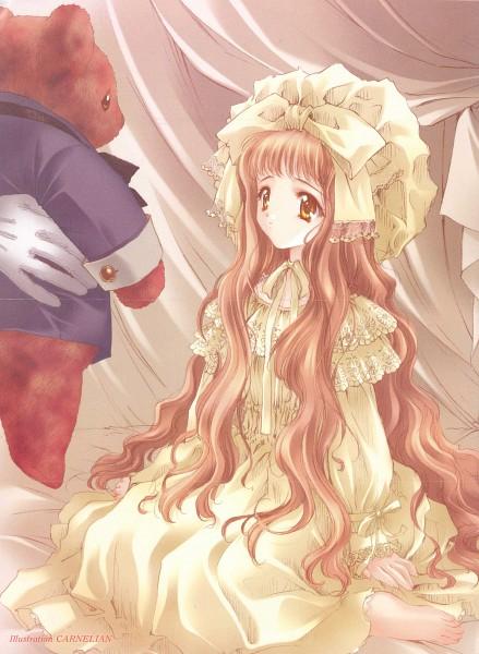 Tags: Anime, CARNELIAN, The Sanctuary Knocker, Shaura (The Sanctuary Knocker), CG Art, Scan