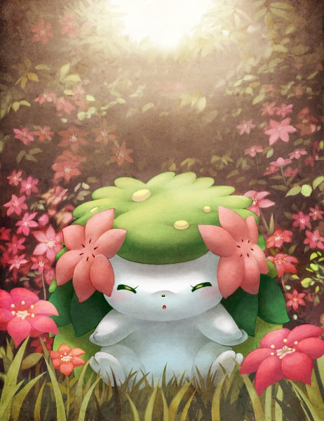 Tags: Anime, Coken, Pokémon, Shaymin, Hedgehog, Legendary Pokémon