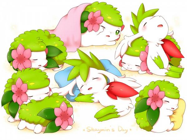 Tags: Anime, Aimi (Pixiv397331), Pokémon, Shaymin, Pixiv, Fanart From Pixiv, Legendary Pokémon, Fanart