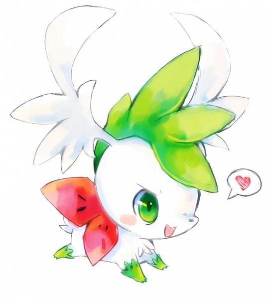 Tags: Anime, suikuzu, Pokémon, Shaymin, deviantART, Fanart From DeviantART, Fanart, Legendary Pokémon