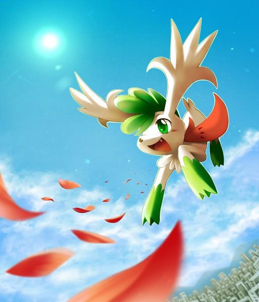 Tags: Anime, Pixiv Id 1324419, Pokémon, Shaymin, Legendary Pokémon