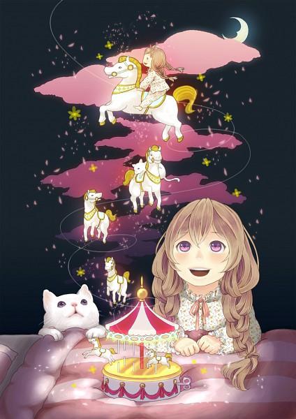 Tags: Anime, Sheep Sleep, Carousel, Pixiv, Original, Mobile Wallpaper