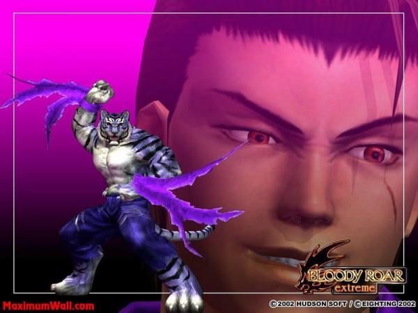 Shenlong The Tiger - Bloody Roar