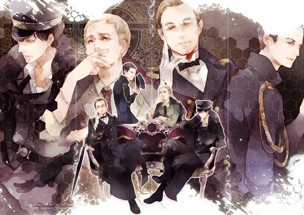 Tags: Anime, mlcamaro, Sherlock BBC, Sherlock Holmes, Mycroft Holmes, Dr. John Watson, James Moriarty, Sherlock Holmes (Character), Fanart, Fanart From DeviantART, deviantART
