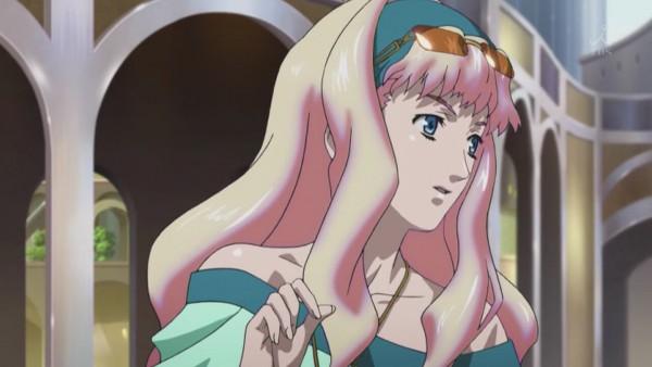 Tags: Anime, Macross Frontier, Sheryl Nome, Screenshot