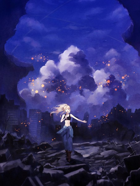 Tags: Anime, Fullmetal Alchemist, Macross Frontier, Sheryl Nome, Winry Rockbell, Uhouho14