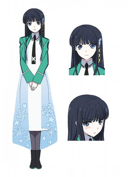 Tags: Anime, Ishida Kana, MADHOUSE, Mahouka Koukou no Rettousei, Shiba Miyuki, Mobile Wallpaper, Cover Image, Official Art