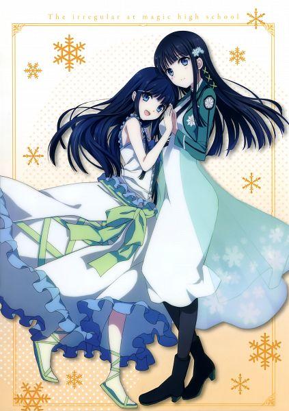 Tags: Anime, MADHOUSE, Mahouka Koukou no Rettousei, Shiba Miyuki, Scan, Mobile Wallpaper, Official Art