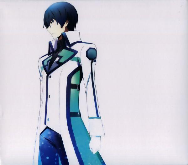Tags: Anime, MADHOUSE, Mahouka Koukou no Rettousei, Shiba Tatsuya, Official Art, Scan