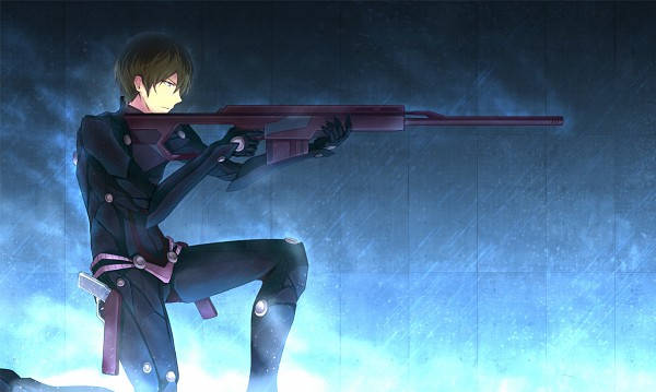 Tags: Anime, Asakurashinji, Mahouka Koukou no Rettousei, Shiba Tatsuya, Sniper Rifle, deviantART, Fanart, Fanart From DeviantART