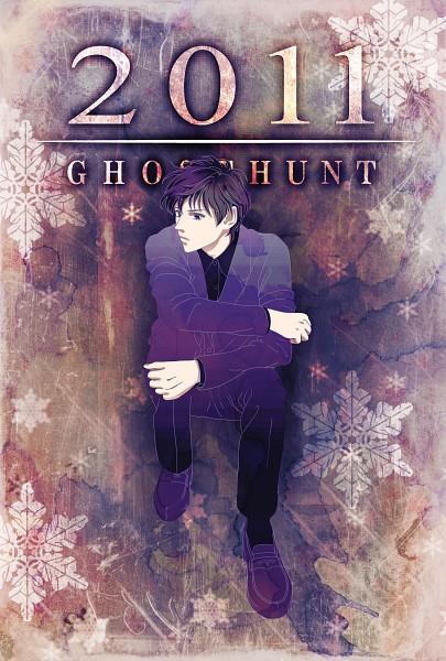 Tags: Anime, Chad (Pixiv 165394), Ghost Hunt, Shibuya Kazuya, Mobile Wallpaper, Fanart, Pixiv