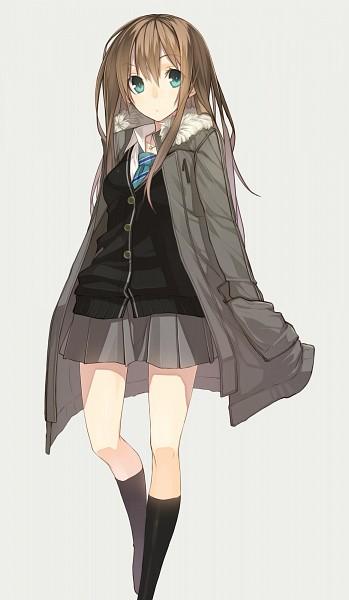 Tags: Anime, Senmu, THE iDOLM@STER: Cinderella Girls, Shibuya Rin, Checkered Neckwear, Fanart From Pixiv, Mobile Wallpaper, Pixiv, Fanart