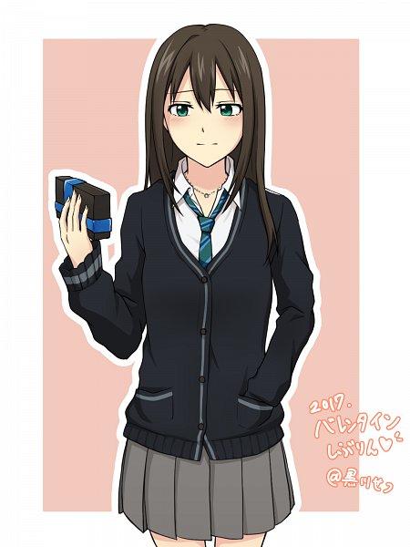 Tags: Anime, Pixiv Id 17162773, THE iDOLM@STER: Cinderella Girls, Shibuya Rin, Pixiv, Fanart, Fanart From Pixiv