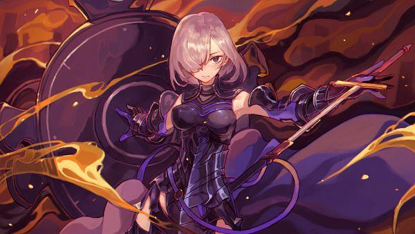 Tags: Anime, Pixiv Id 16225944, Fate/Grand Order, Shielder (Fate/Grand Order), Pixiv, Wallpaper, Fanart, Fanart From Pixiv