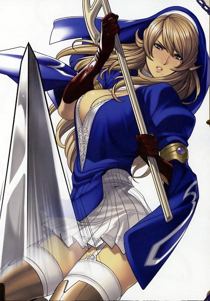Tags: Anime, Oda Non, Queen's Blade Rebellion, Shigi, Official Art