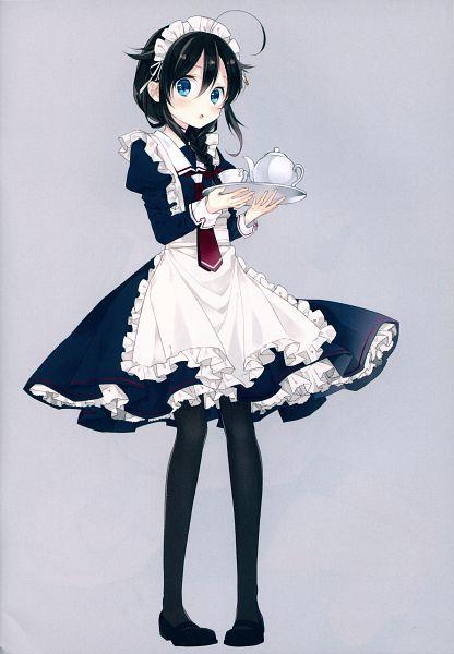 Tags: Anime, Naoto (Tulip), DEAR (Artbook), Kantai Collection, Shigure (Kantai Collection), Fanart, Mobile Wallpaper, COMIC1☆9, Scan, COMIC1