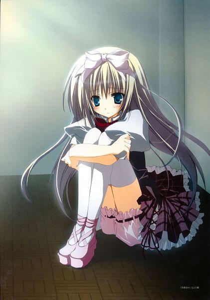 Tags: Anime, Inugami Kira, Seitokai no Ichizon, Seitokai no Ichizon Illustrations, Shiina Mafuyu, Official Art, Scan