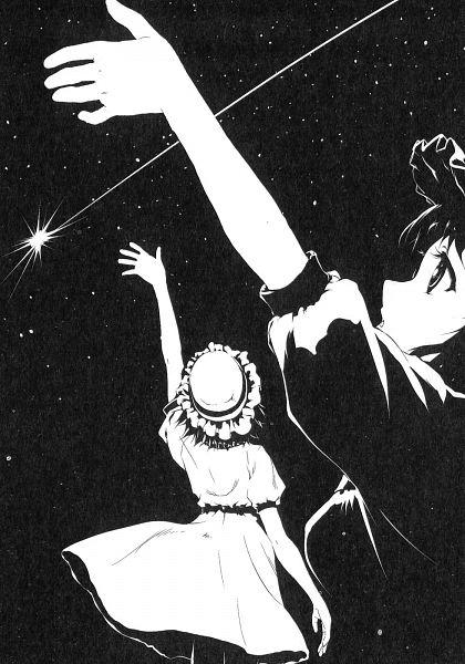 Tags: Anime, Steins;Gate, Shiina Mayuri, Reaching Up, Official Art