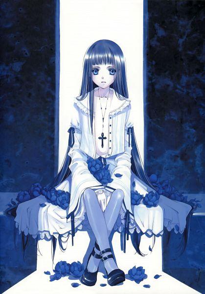 Tags: Anime, Shiina Yuu, Original, Scan, Mobile Wallpaper