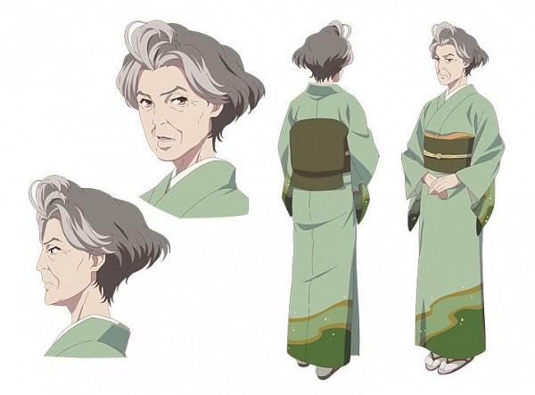 Tags: Anime, Sekiguchi Kanami, P.A. Works, Hanasaku Iroha, Shijima Sui, Official Art, Character Sheet