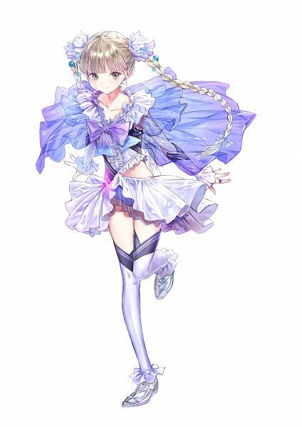 Tags: Anime, Kishida Mel, Blue Reflection, Shijou Yuzuki, Official Art