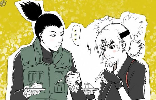 Tags: Anime, NARUTO, Temari (NARUTO), Nara Shikamaru, Quad Tails, Pixiv, ShikaTema