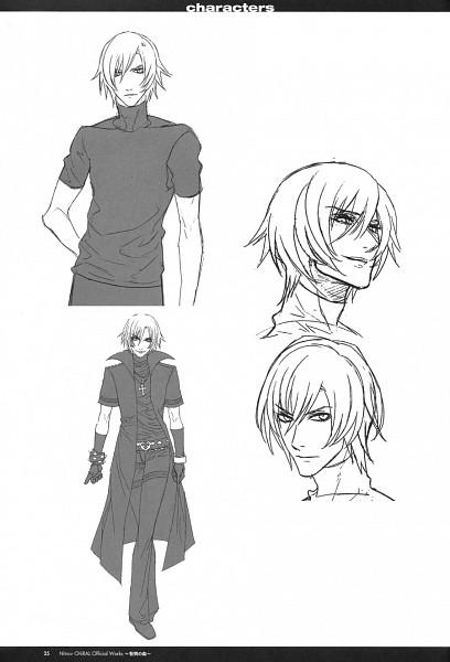 Tags: Anime, Nitro+CHiRAL, Togainu no Chi, Shiki (TNC), Scan, Mobile Wallpaper