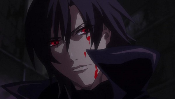 Tags: Anime, Nitro+, Togainu no Chi, Shiki (TNC), Leather Clothes, Leather Jacket, Wallpaper, Facebook Cover, Screenshot