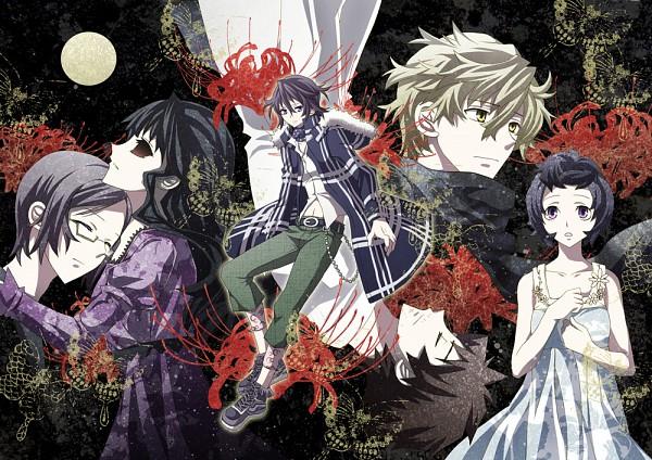 Tags: Anime, Soritari, Shiki, Ozaki Toshio, Mutou Toru, Kirishiki Sunako, Muroi Seishin, Koide Natsuno, Mokoto Maeda, Pixiv