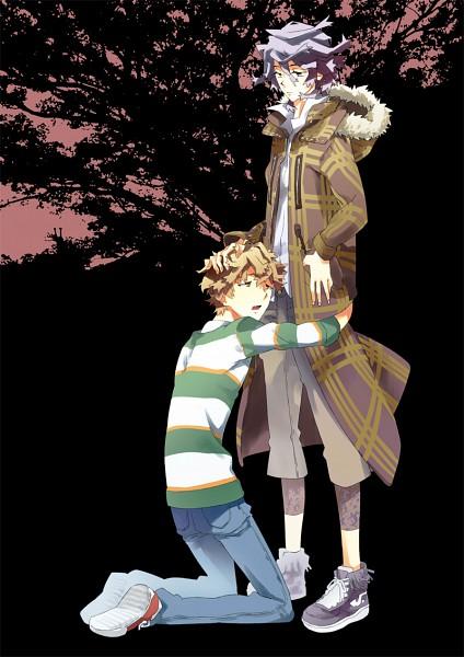 Tags: Anime, Pixiv Id 5479, Shiki, Koide Natsuno, Mutou Toru, Pixiv