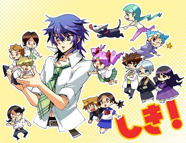 Tags: Anime, Siaru, Shiki, Tatsumi (Shiki), Tanaka Kaori, Kirishiki Sunako, Tanaka Akira, Muroi Seishin, Ozaki Toshio, Koide Natsuno, Shimizu Megumi, Kunihiro Ritsuko, Mutou Toru