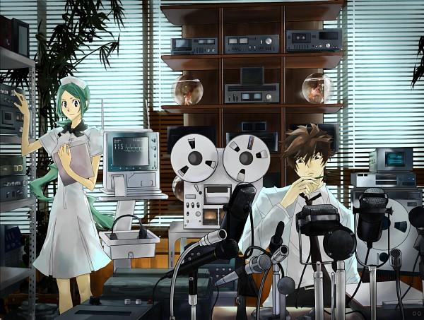 Tags: Anime, Pixiv Id 40962, Shiki, Kunihiro Ritsuko, Ozaki Toshio